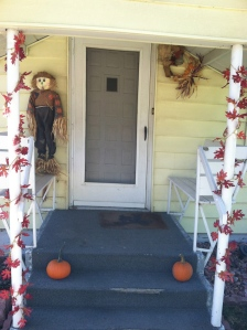 Fall decorations. Photo Credit/Denise Gilliland, Editor and Chief, Kat Country Hub.