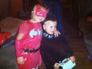 Our grandkids, Grayce and Grayhm, Halloween 2010. Photo Credit/Denise Gilliland, Editor and Chief, Kat Country Hub.