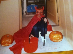 Our son Justin, Halloween 1989. Photo Credit/Denise Gilliland, Editor and Chief, Kat Country Hub.