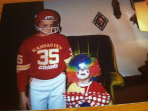 Our kids, Justin and Whitney. Halloween 1991. Photo Credit/Denise Gilliland, Editor and Chief, Kat Country Hub.