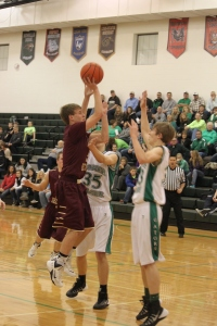 Cougar basketball. All Photo Credit/Rhonda Hansen, LDNE