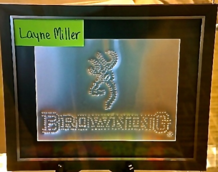 Layne Miller's 4-H project at the Lyons Library. Photo Credit/Denise Gilliland, Editor and Chief, Kat Country Hub.