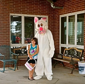 Easter egg hunt attracted a large crowd at Oakland Heights. All Photo Credit/Denise Gilliland, Editor and Chief, Kat Country Hub.