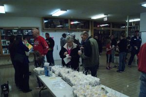 After the concert rootbeer floats were served. Photo Courtesy of LDNE.