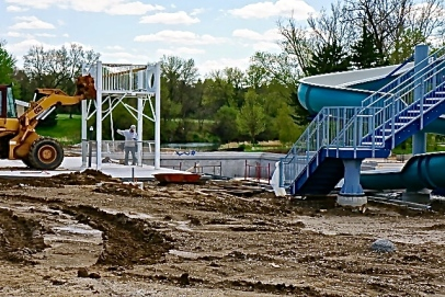 The new Lyons Pool. Photo Credit/Denise Gilliland, Editor and Chief, Kat Country Hub.