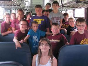 From left in way back row is Maggie White, Emma Nelson, Rusty Hardemen, and Reid Preston.  From Left in second row is Cassidy Mentink, Kassandria Prieto, Seth Totten, Chad Christoferson, Ryan Payton, and Brennan Fergison.  From left third row is Zach Heggy, Mason Lami, Derek Peterson, and Braden Anderson.  And very front row is Kisha Kraft.