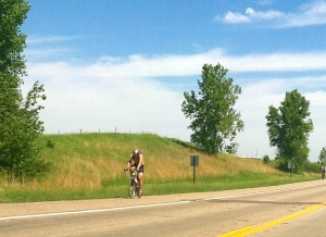 BRAN riders on highway 77 enroute to their welcoming destination in Lyons, NE. All Photos, Credit of Denise Gilliland, Editor and Chief, Kat Country Hub.