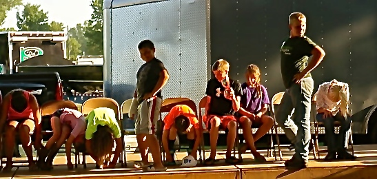 The Hypnotist Show Brought Many Laughs At The Fair
