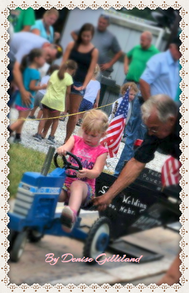 kiddie tractor ride