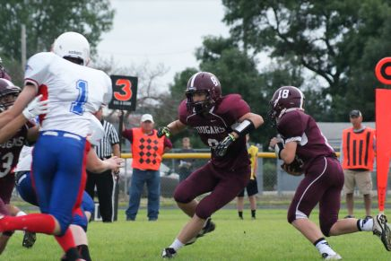 John Christensen takes off for the Cougars. Photo Credit/Pat Sharp LDNE.