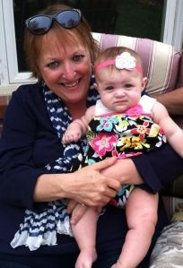 Connie with her granddaughter Kalihan. Photo Courtesy of Connie Peterson.