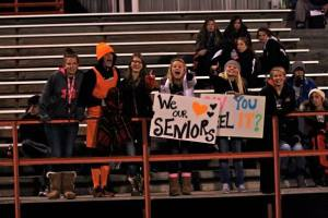 OC's student body section shows their pride in the Knights! Photo Credit/Cheri Droescher.
