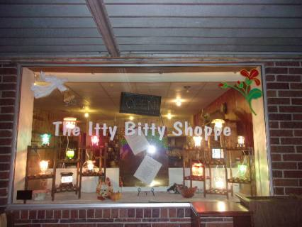 Photo Courtesy of Kathy Peterson, owner of Itty Bitty Shoppe.