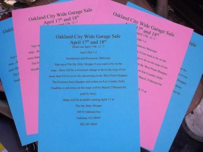 Oakland City Wide Garage Sale Coming Soon!