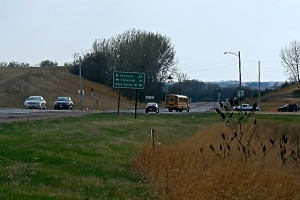 The junction of highway 77/32. Photo Credit/Denise Gilliland, Editor and Chief, Kat Country Hub.