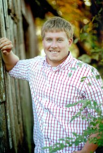 Justin Smith is the son of Mark and Michelle Smith. He plans to attend Northeast Community College majoring in diversified agriculture and also working on the family farm, with future plans to expand it.