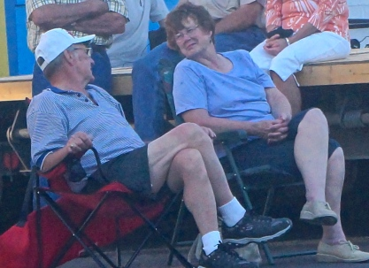 Norm and Janice Case attended the first tractor pull during the Swedish Festival. Photo Credit/Denise Gilliland, Editor and Chief, Kat Country Hub.