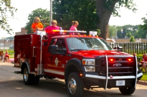 Many entries from all over the county came to the Lyons 4th of July Parade. All Photos Credit of Denise Gilliland/Editor and Chief, Kat Country Hub.