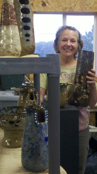 Marilyn Tenney, September Artist of the Month. Photo Courtesy of Julie Johnson.
