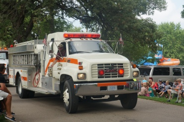 The Burt County Fair Parade brings Fire and Rescue Departments from all over the county. All photos credit of Denise Gilliland/Editor and Chief, Kat Country Hub.