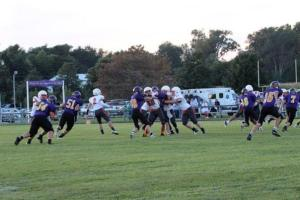 O-C takes on T-H, defeating them soundly 61-12. All photos credit of Cheri Droescher.