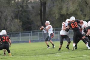OC quarterback Cole Mitchell had a great night against Stanton. Photo Credit/Cheri Droescher.