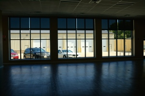 The new windows at the Lyons Community Center. Photo Credit/Denise Gilliland, Editor and Chief, Kat Country Hub.