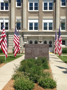 The Burt County Courthouse in Tekamah NE honors those serving or have served our country. God Bless them living and those that have died to protect our freedoms. Both photos credit of Denise Gilliland/Editor and Chief, Kat Country Hub.
