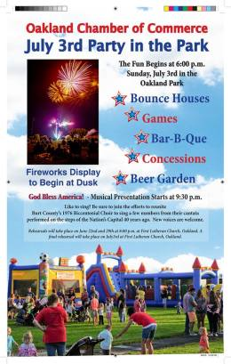 July 3rd Party in the Park
