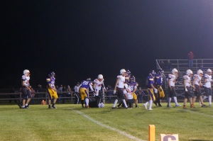 The Oakland-Craig Knights soundly defeated the Tekamah-Herman Tigers 48-0 last Friday evening in Tekamah. All photos credit of Denise Gilliland/Editor and Chief, Kat Country Hub.